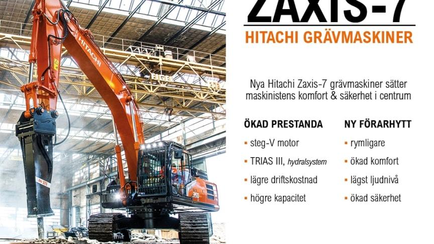 Hitachi Zaxis-7 serien - världspremiär