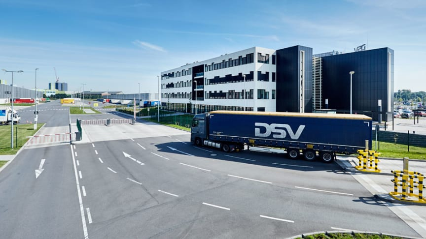 DSV's facility in Krefeld, Germany is close to both a good road network, airports and ports