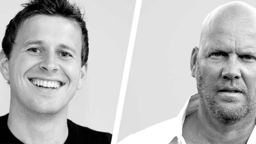 Niels Bondrup Jensen (tv.) og Kenneth Warnke
