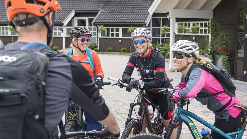 I helgen fylles Trysil opp av stisyklister som blant annet skal delta på guidede turer, teste sykler- og utstyr og kose seg på terrengsykkelfestivalen Utflukt.