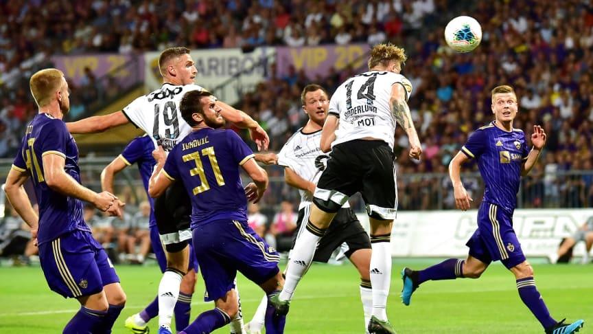 Kan Alexander Søderlund stange Rosenborg nærmere UEFA Champions League? FOTO: Ritzau Scanpix
