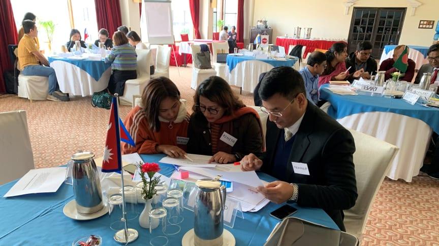 Nu har en ny ITP-utbildning startat och denna gång befinner sig deltagarna i Katmandu i Nepal under perioden 3-7 februari.
