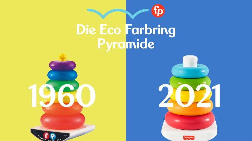 Fisher-Price Farbringpyramide