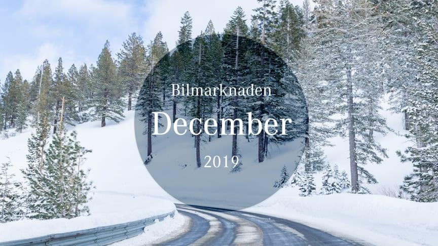 Bilmarknaden december 2019
