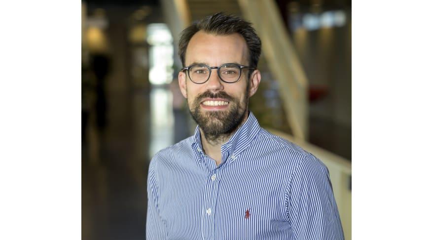 Andreas Edsfeldt, mottagare av SLS Translationella pris 2021