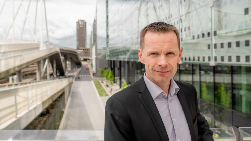 Utviklingsdirektør Morten Austestad i Bane NOR Eiendom AS er ny styreleder i Drammen Helsepark AS.