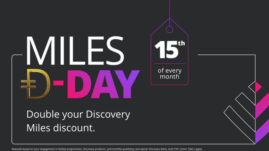 Discovery Miles Đ-Day bigger than Black Friday