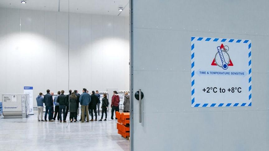 Newly GDP-certified: Panalpina's Healthcare Logistics Center Frankfurt/Main (Photo: Miriam De Giorgi, Panalpina)