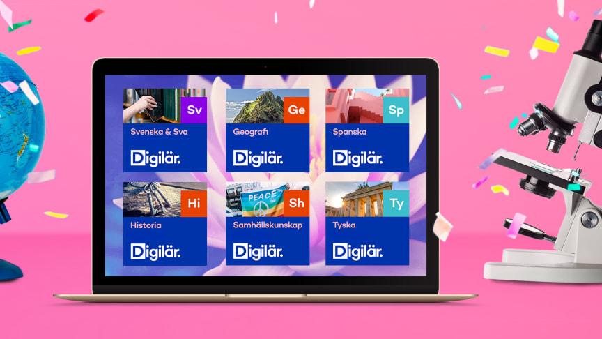 Digilär och Natur & Kultur lanserar nya Digilär. Helt ny användarupplevelse, nyskapad funktion för att skapa egna kurser och uppläst ljud på allt innehåll är bara några av nyheterna.