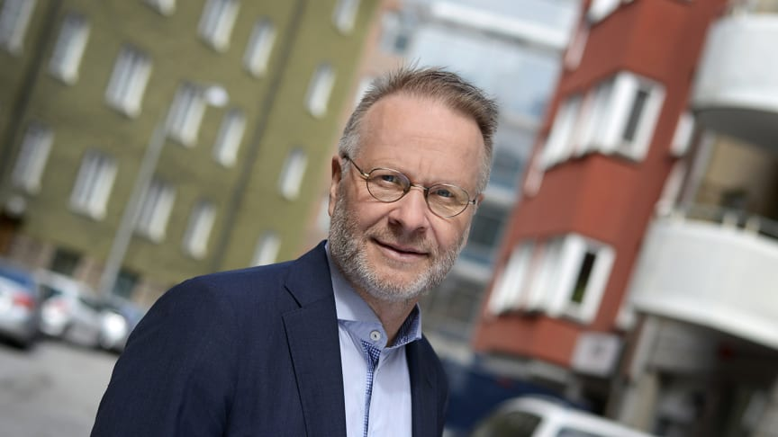 Björn Wellhagen, VD Mäklarsamfundet