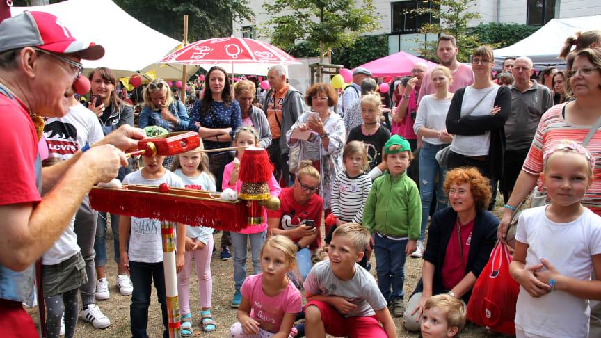Tag der offenen Tür im Kinderhospiz Bärenherz Leipzig