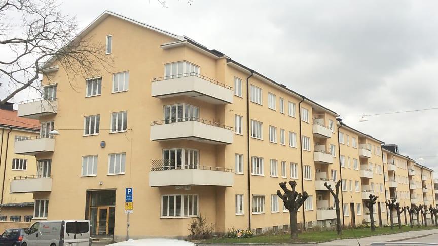 En av Stockholms största bostadsrättsföreningar till Riksbyggen
