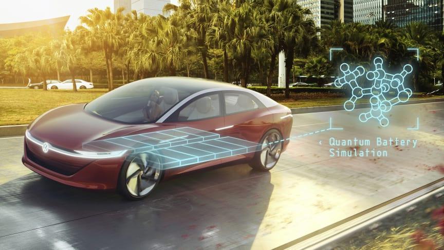 Volkswagen øger sin aktiepost i QuantumScape