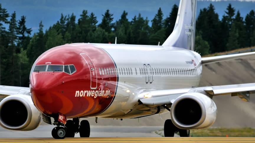 Norwegian er Sveriges bedste flyselskab