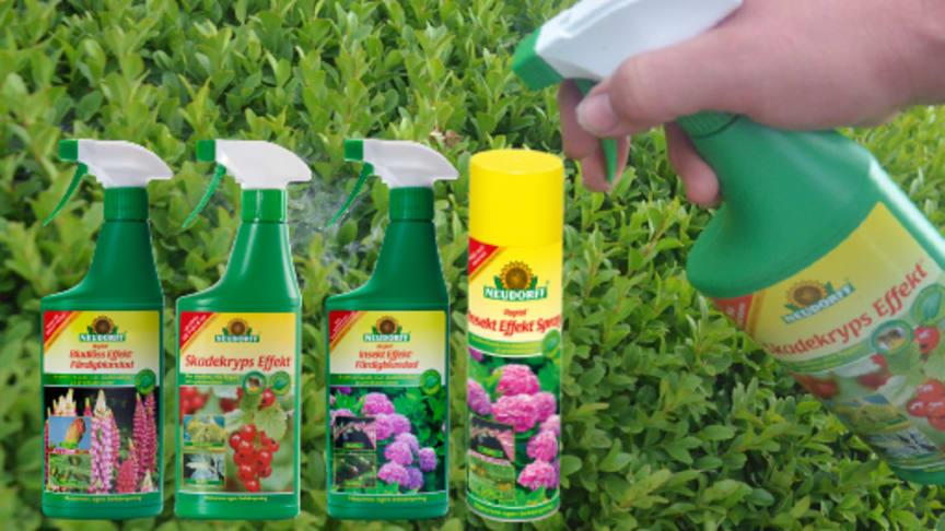 Ta bort skadeinsekter med naturens hjälp!