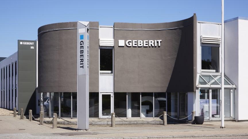 Geberit investerer yderligere i dansk showroom, ekspertise og kundeservice