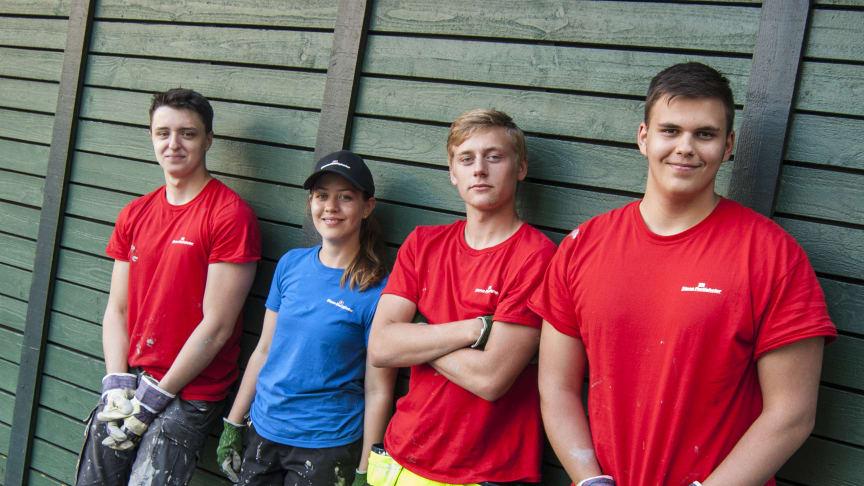 I sommar söker Stena Fastigheter aktivt upp samarbetspartners för att skapa ytterligare sommarjobb till unga i Malmö.