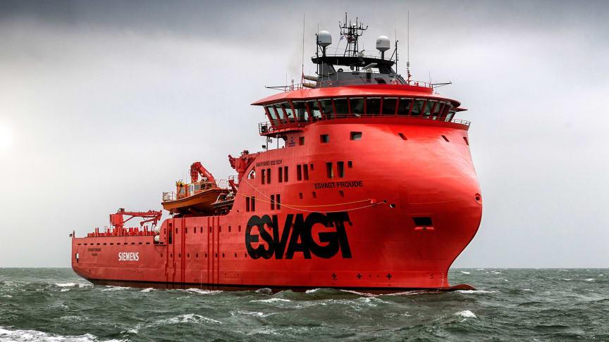 Med 'Esvagt Froude' får man en fuldt integreret on-site løsning til offshore konstruktionen af Triton Knoll, hvilket bidrager til at reducere omkostningerne.