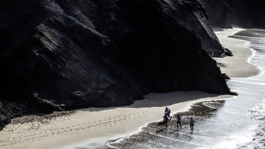 Løb på stranden på Fuerteventura