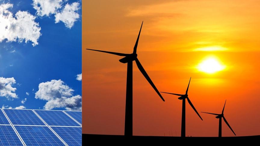 Sol- och vindkraft är redan nu billigare än olja, gas och kol för att producera el