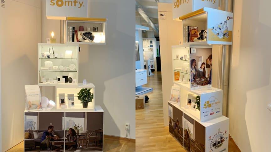 Somfy visar upp det smarta hemmet på MAKAJO i Göteborg