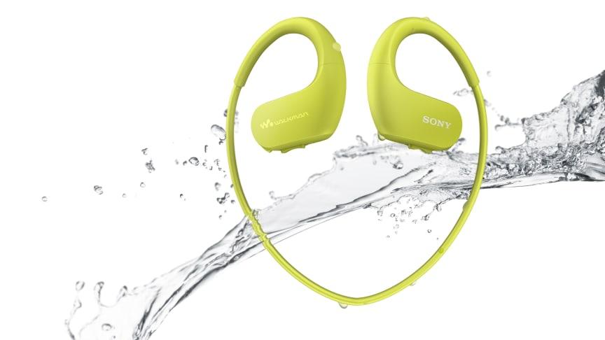 Sony udvider serien af musikafspillere til den aktive med ny Wearable Sports Walkman®
