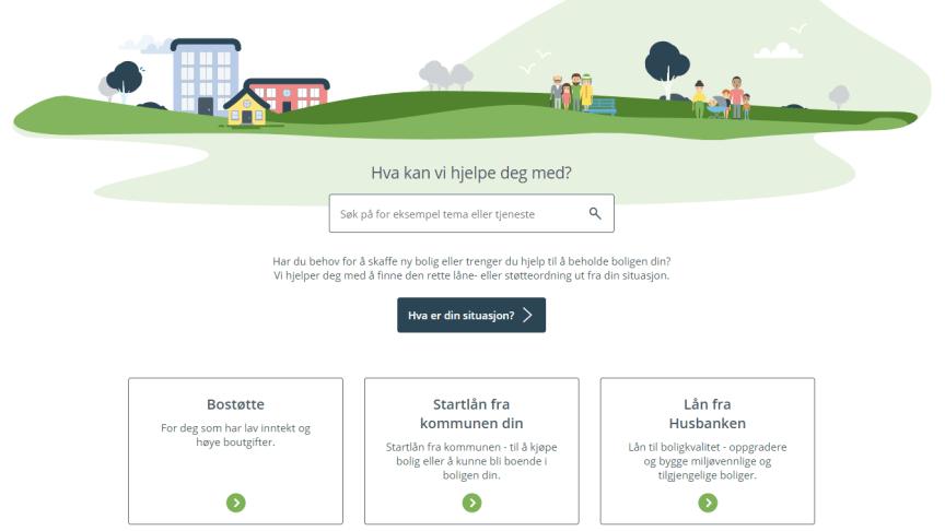 Husbanken.no er bygget om med tanke på brukerne og lansert i ny versjon. (Illustrasjonsbilde)
