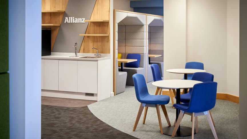Allianz unveils new Engineering, Construction and Power hub at Guildford head office