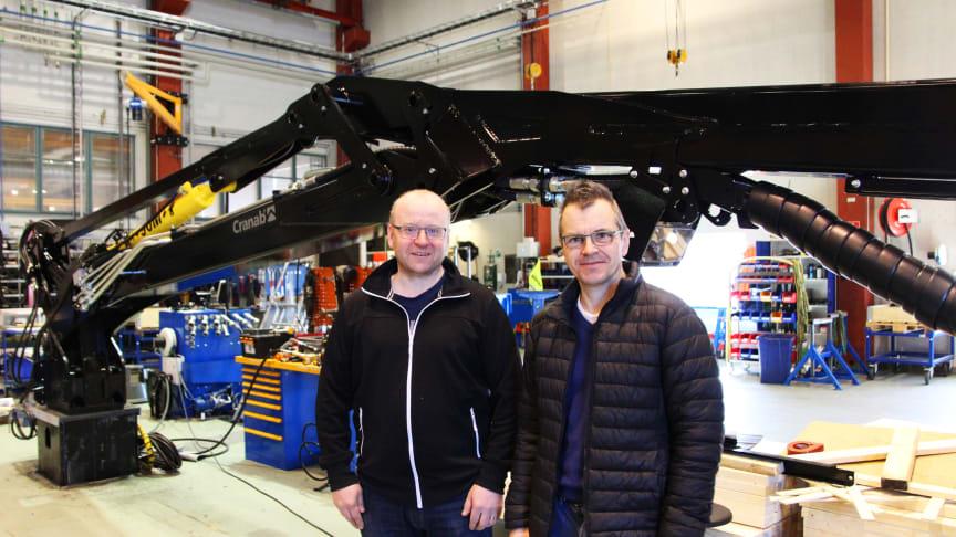 Lars Rudolfsson och Anders Strömgren