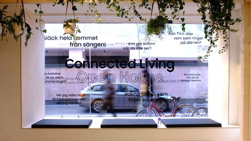 Samsung Connected Living Open House på Norrlandsgatan 7