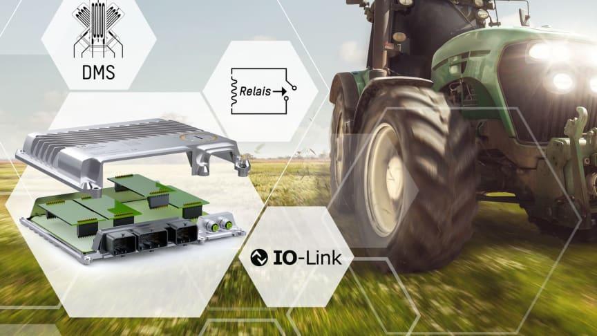 B&R expanderar användningsområdet för X90 styrsystem för mobila applikationer med tre nya optionskort.