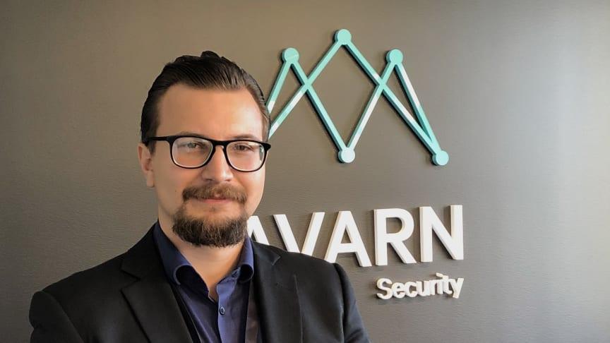 David Hansson, avtalsansvarig på Avarn Security.
