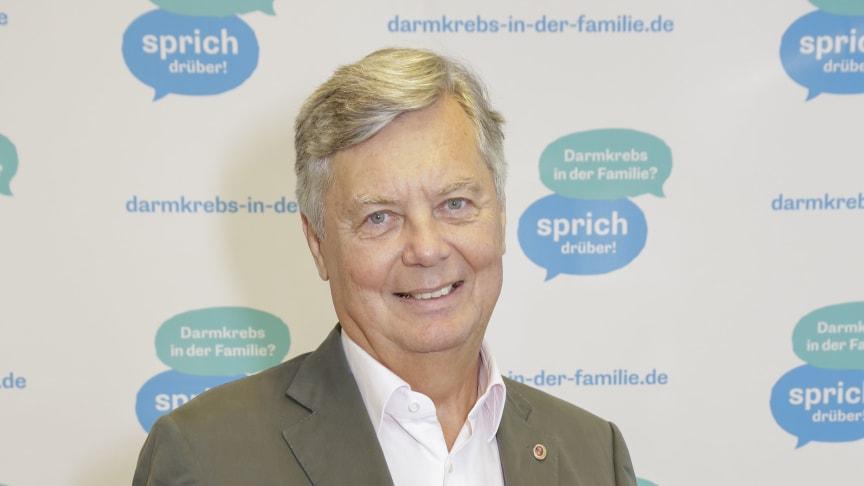 FARKOR: Dr. Berndt Birkner, Magen-Darm-Arzt, Kuratoriumsmitglied der Felix Burda Stiftung und medizinischer Berater des Modellprojekts