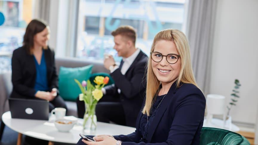 Charlotta Theorin, Regional Manager på A Society.