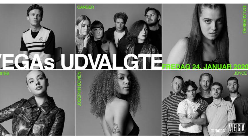VEGAs Udvalgte 2020: Seks navne til dit nye musikår
