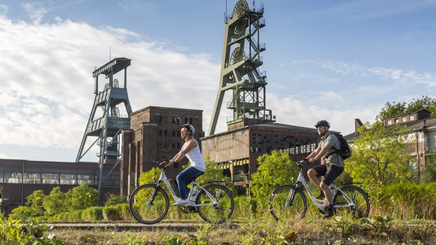 Erfolgsmodell Industriekultur: Blick auf Zeche Ewald Foto:rtg/Tack