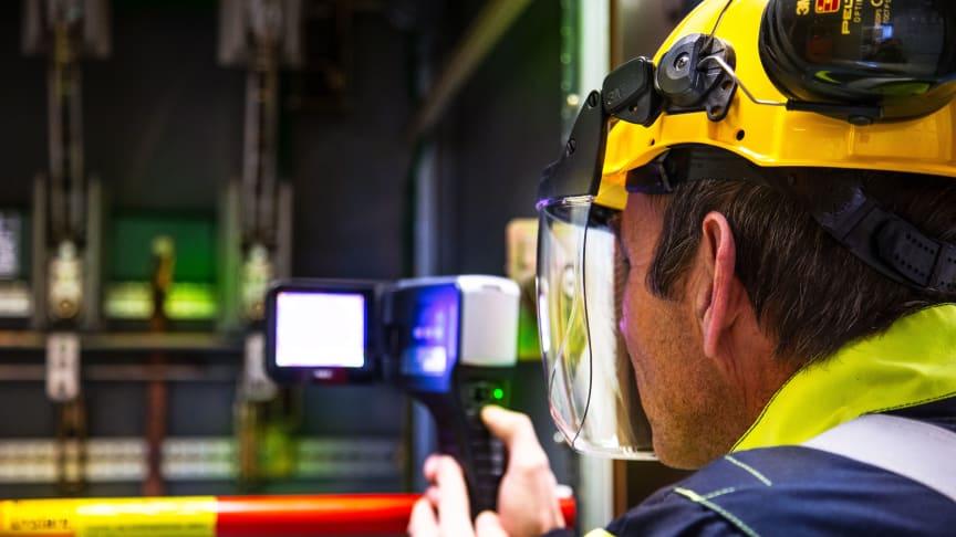 Nytt kurs gir elektrotermografører nødvendig oppdatering før resertifisering, med mulighet for eksamen siste kursdag. Foto: Trainor