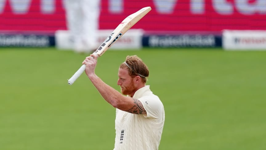 Ben Stokes recorded his 10th Test match century at Emirates Old Trafford scoring 176 (Getty Images)