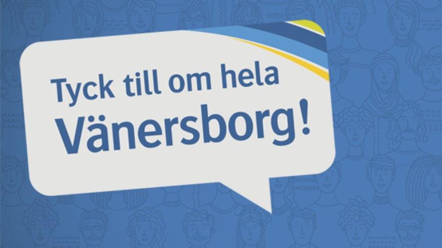 Nu kan alla vara med och tycka till om Vänersborg när ett varumärke ska arbetas fram.