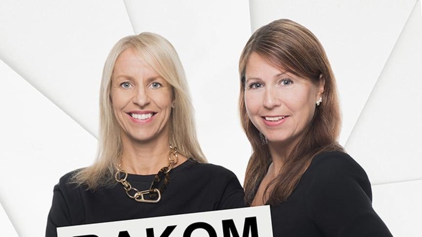 Programledarna Jessica Morales och Jenny Kaiser från reklambyrån Åkestam Holst.
