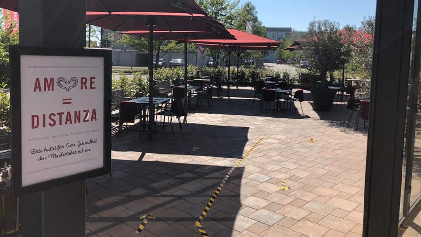 L'Osteria öffnet bundesweit ihre Restaurants unter strengen Sicherheits- und Hygieneauflagen