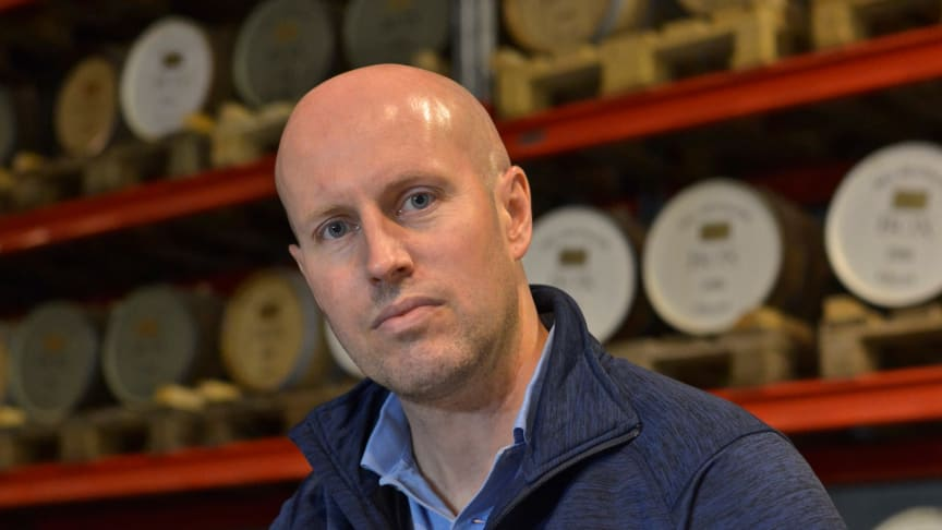 Henrik Persson ny VD på High Coast whisky
