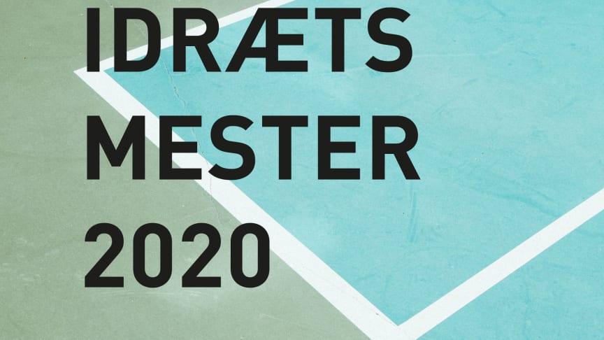 Idrætsmester 2020 postkortbillede