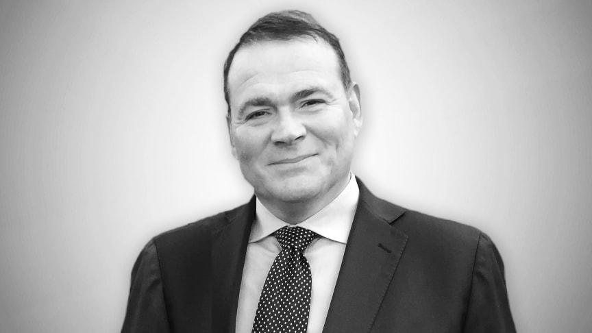 Kent Edh Jansen, nytillträdd som Client Relationship Director på Slättö