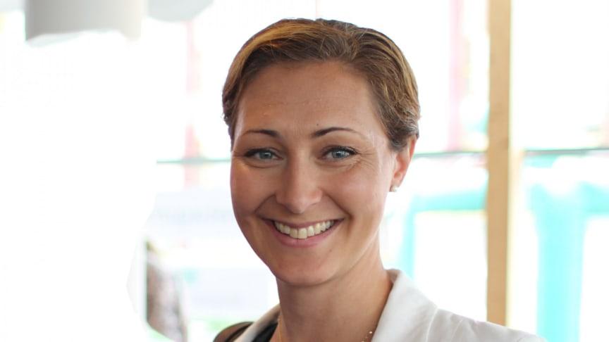 Sandra Ruuda, vd på Företagsfabriken i Kronoberg och nyligen invald styrelseledamot i Swedish Incubators & Science Parks.