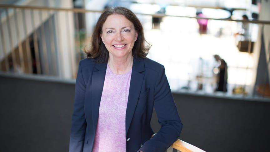 Solfrid Skilbrigt, strategi- og HR-direktør i Sopra Steria Skandinavia