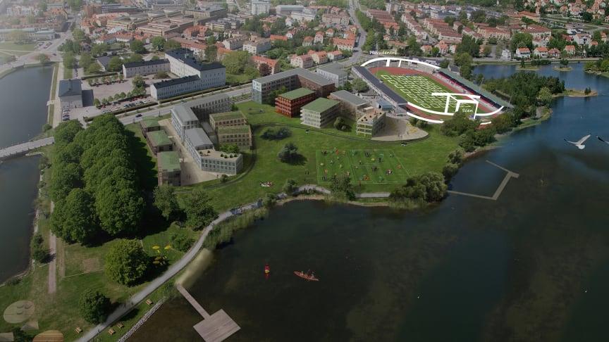Kalmar satsar på konsertarena och Convention Bureau