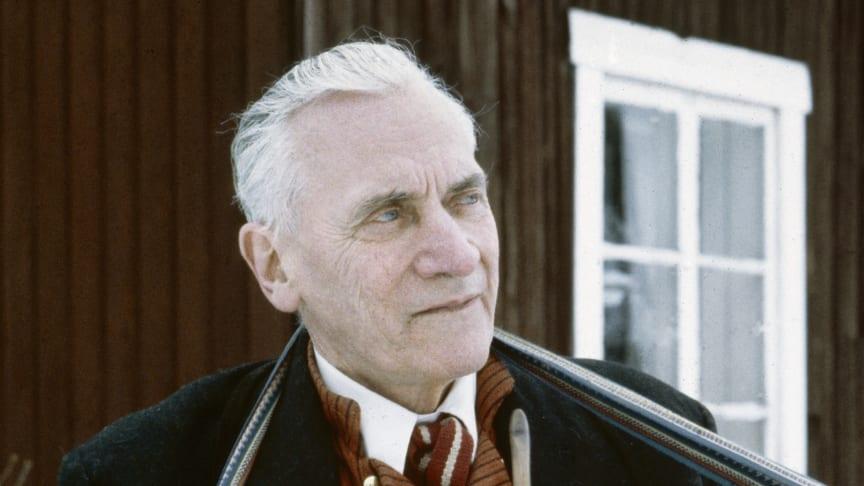 Onsdag 20 november öppnar utställningen Eric Sahlström - en uppländsk storspelman