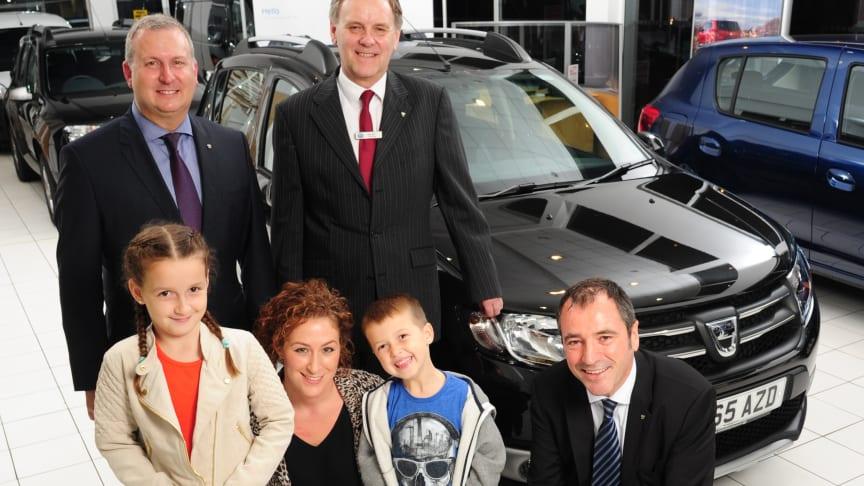 Dacia rammer 3,5 mio biler.