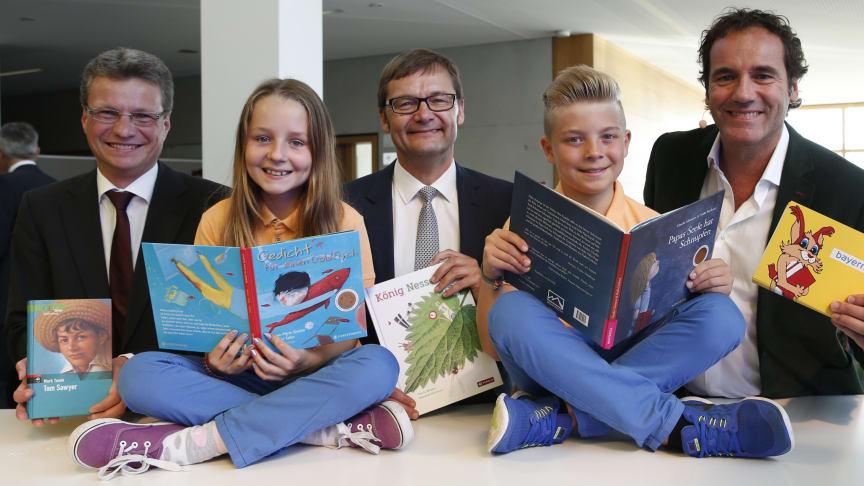 Presseinformation: Kinderbibliothekspreis für fünf herausragende Bibliotheken - Bayernwerk zeichnet Preisträger in Essenbach aus